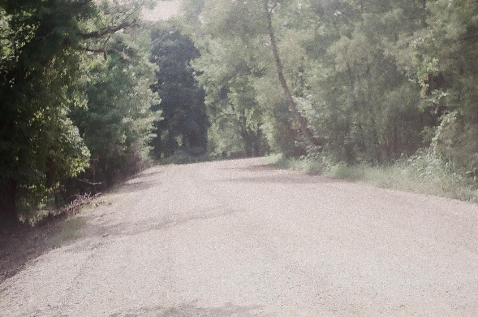 A gravel road